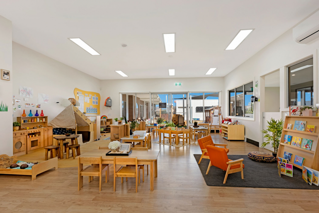 Classrooms that inspire at Imagine Childcare