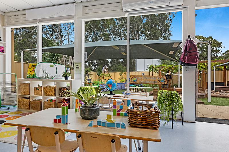 Classrooms have a beautiful outlook at Imagine Childcare Templestowe